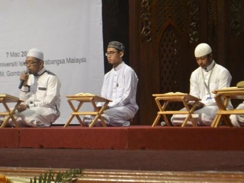 Pelajar UIAM Juara Musabaqah Iqra Mahasiswa Universiti Seluruh Malaysia