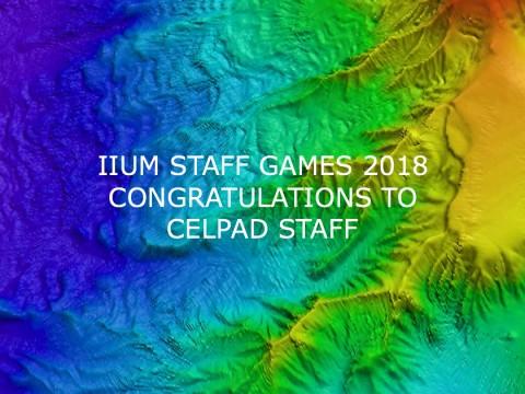 IIUM Staff Games 2018: Congratulations to CELPAD Staff