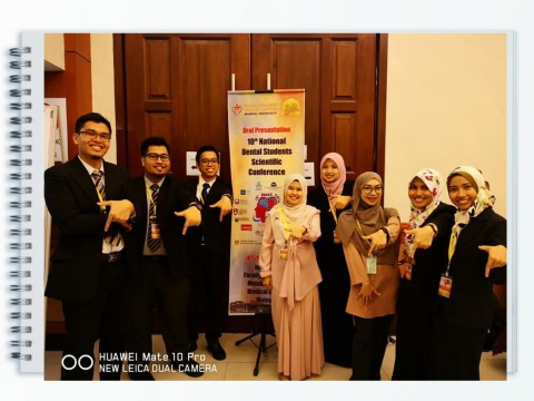 Congratulations KOD team for achievements during 10th National Dental Student's Scientific Conference