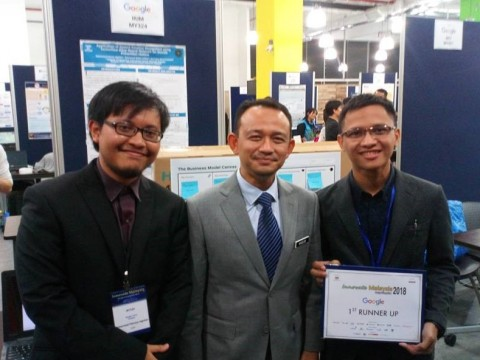 INNOVATE MALAYSIA DESIGN COMPETITION 2018 – 1ST RUNNER UP