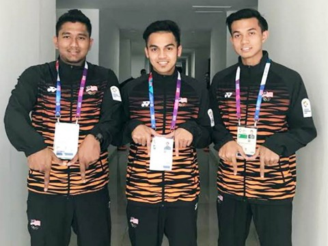 Congratulations and all the best to 3 IIUM Mustang's Athletes