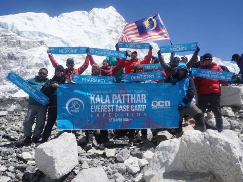 Congratulations Dr Siti Hajar for her remarkable achievement in Kala Patthar and Everest Base Camp Expedition