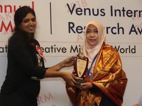 Congratulations Dr. Betania Kartika Muflih of INHART on being awarded Distinguished Scientist Award