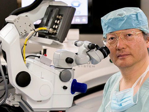 Renowned Japanese cataract surgeon ready to assist public universities