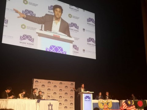 IIUM Reached the Grand-Final  of the World Universities Debating Championship, Cape Town 2019