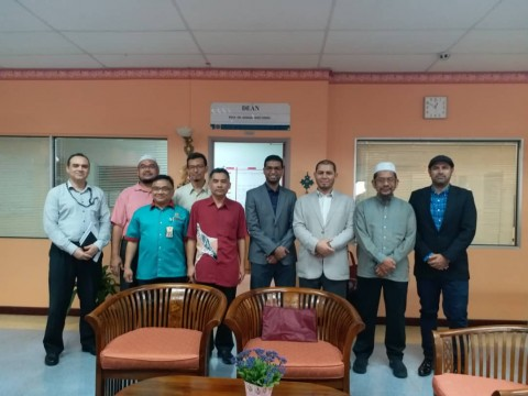VISIT BY DELEGATION FROM ISLAMIC MADINAH UNIVERSITY