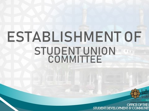 ESTABLISHMENT OF STUDENT UNION COMMITTEE