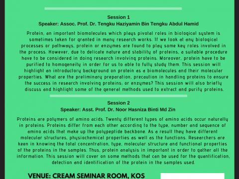 CREAM Seminar Series 1/2019