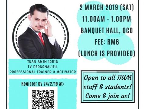 Join a talk by Tuan Amin Idris
