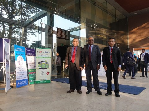 KULLIYYAH OF MEDICINE DELEGATES IN CONJUNCTION WITH THE 1st INTERNATIONAL CONFERENCE  JOINTLY ORGANISED BY THE CIMCDC