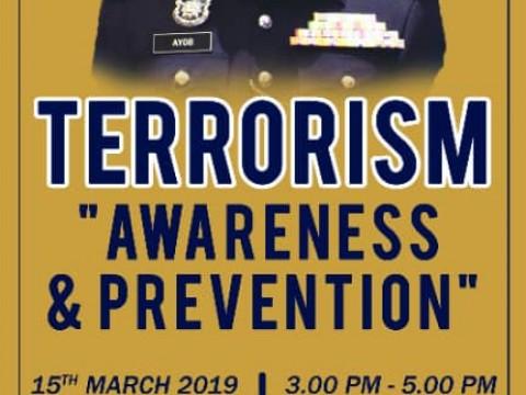 "TERRORISM ""AWARENESS & PREVENTION"""