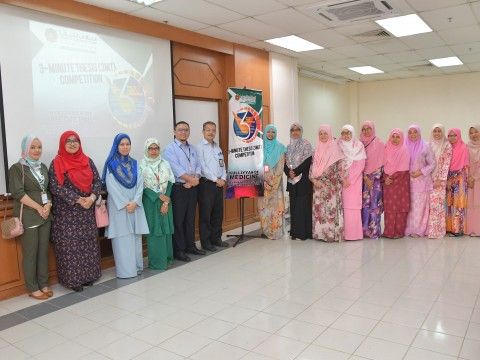 3 Minutes Thesis Competition