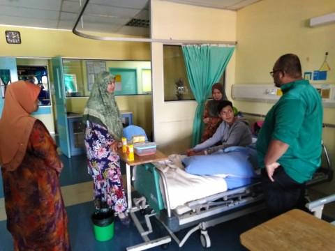 CFS staff welfare visit to Hospital Pakar Sultanah Fatimah