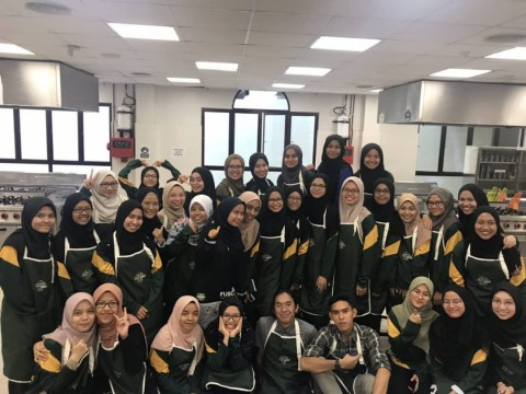 Slaughtering Course by Dietetics Students