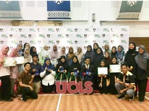 Pelajar UIAM bawa pulang lima pingat di Penang International Invention Innovation and Design (PIID) 2019