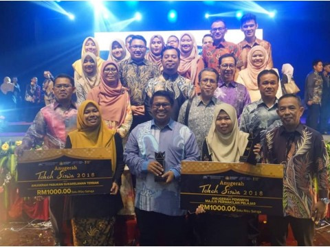 UIAM bawa pulang dua anugerah pada Anugerah Tokoh Siswa 2018