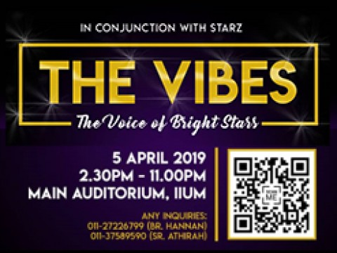 "Event: THE VIBES - Secret on how to be ""Bold & Bright"" wherever we go"