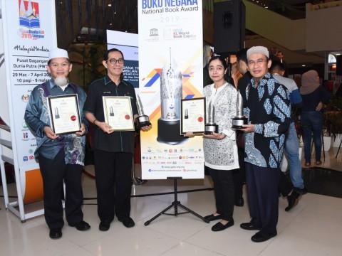 IIUM WINS FOUR NATIONAL BOOK AWARDS 2019