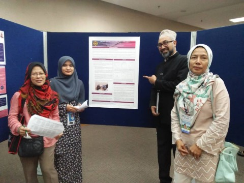 "Student Presented A Poster at 15th National Symposium of Adolescent Health ""Empowering Adolescent"""