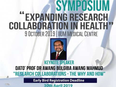 SECOND ANNOUNCEMENT 5TH MEDICAL RESEARCH SYMPOSIUM (MRS) 2019