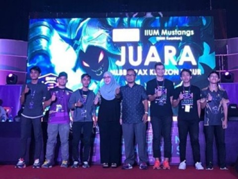 CFS IIUM Team Emerged as Champion for E-Sport