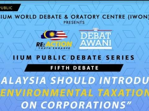 "Jom hadir ke Debat Awam bersiri ""Re:Action - Youth Engaged"" bakal berlangsung 24 April di UIAM"