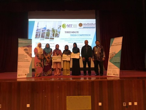 Three Minute Thesis (3MT) Competition 2019