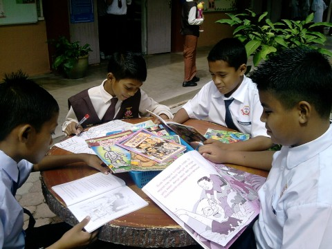 #myschoolgoals promote reading culture