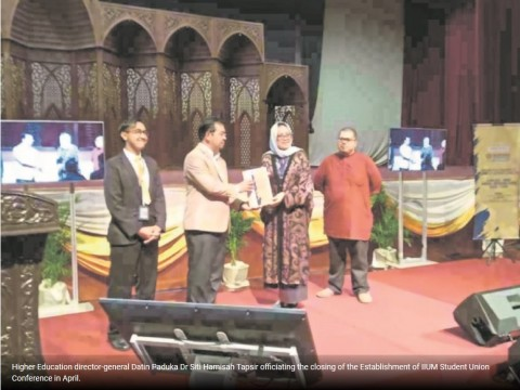 IIUM to be first in establishing students' union