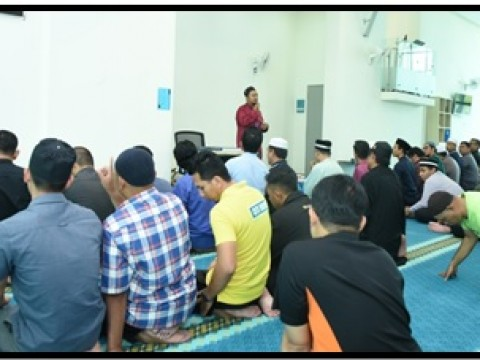 First Friday Prayer at CFS IIUM MOSQUE