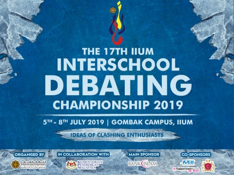 The 17th IIUm Interschool Debating Championship 2019