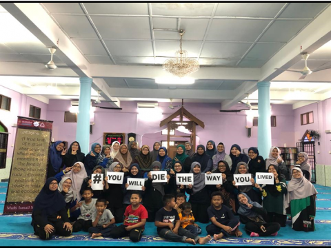 IIUM Pagoh: Community Service Responsibility at Tanah Perkuburan Islam, Panchor Sparks Cognizance Among The Community.