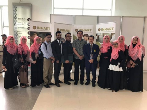 INHART participating in Halal Products Expo (HAPEX 2019)) at Prince of Songkhla University, Thailand
