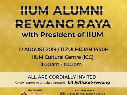 IIUM Alumni Rewang Raya With President