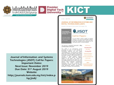 Journal of Information Systems and Digital Technologies (JISDT)