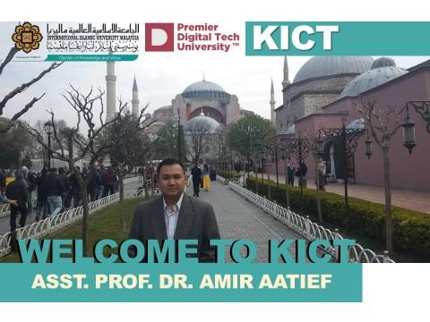 Welcome, Dr. Amir Aatieff!