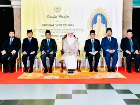 OFFICIAL VISIT TO IIUM