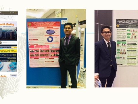 Congratulations KOD students for winning Joseph Lister Junior Travel Award during 18th Annual Scientific Meeting ofInternational Association for Dental Research (IADR) Malaysian Section