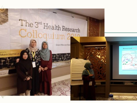 KOD students awarded Travel Grant for the 3rd Health Research Colloquium 2019
