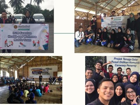 "KOD students participation in ""Nanum Village: A Community Sharing Program"""