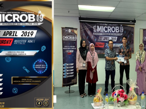 "KOD students won ""Second Place"" during Intervarsity Microbiology Quiz Challenge 2019"