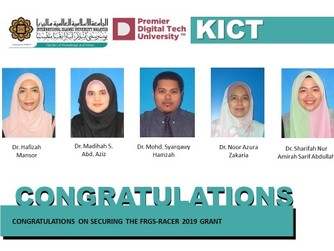 Congratulations on Securing The FRGS-Racer 2019 Grant