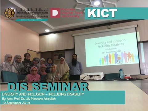 DIS Seminar - Diversity and Inclusion - Including Disability