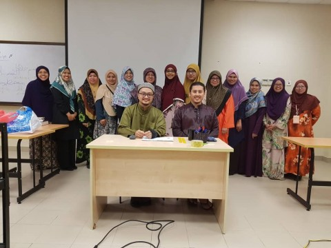 Jawi Transliteration Workshop in KAHS