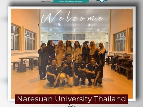 Welcoming Naresuan University, Thailand for student exchange programme