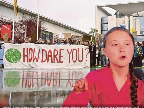 We need our own Greta Thunberg to save the planet