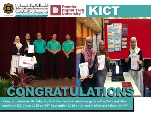 Congratulations to Dr. Zahidah, Prof. Roslina & students