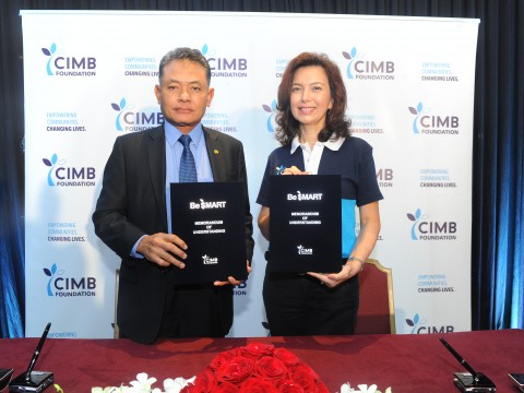 MoU Signing Ceremony between IIUM and CIMB Foundation
