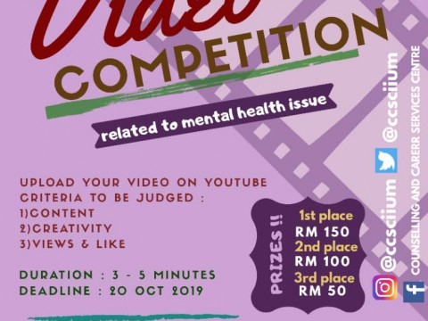 Video Competition : Mental Health Issue