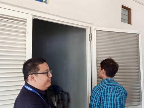 BTE & INHART staffs visit to BSL3 facility at UM, Faculty of Medicine